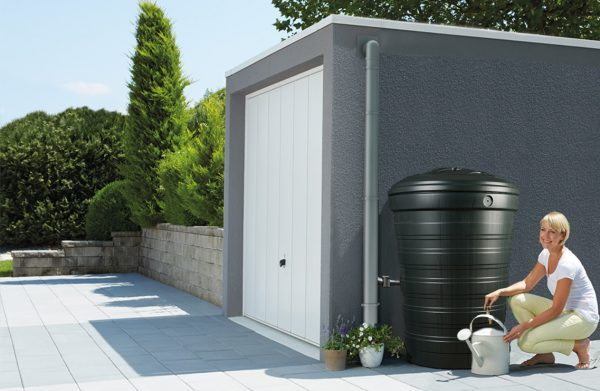 Anglian Water Direct, Aqualogic, Water Butts, Composters, Decorative Water Butts, Water Butt Treatment, 200 Litre Water Butt Set