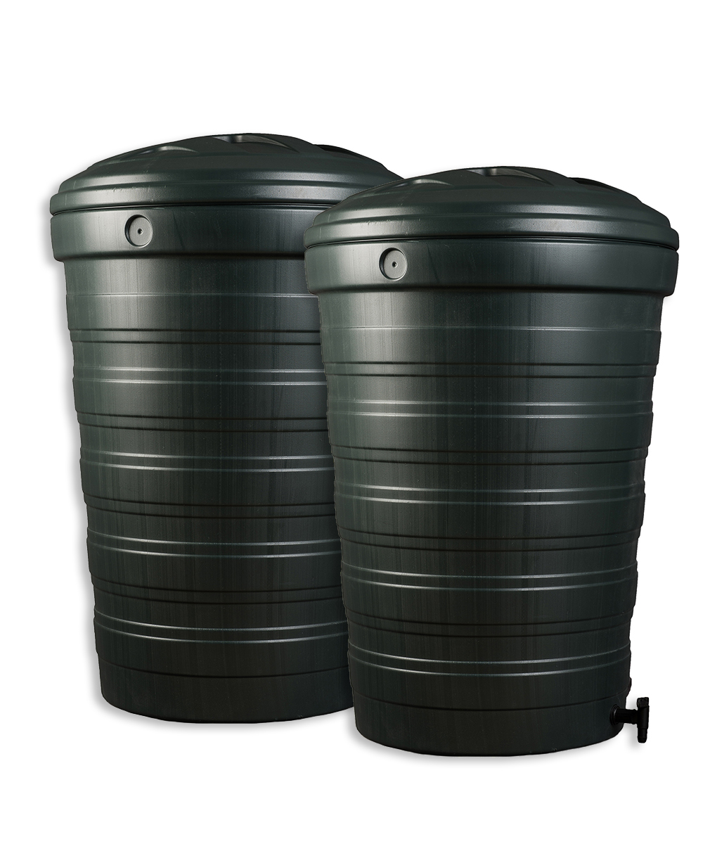 200 Litre Water Butt Set  Buy One Get One Half Price -9365