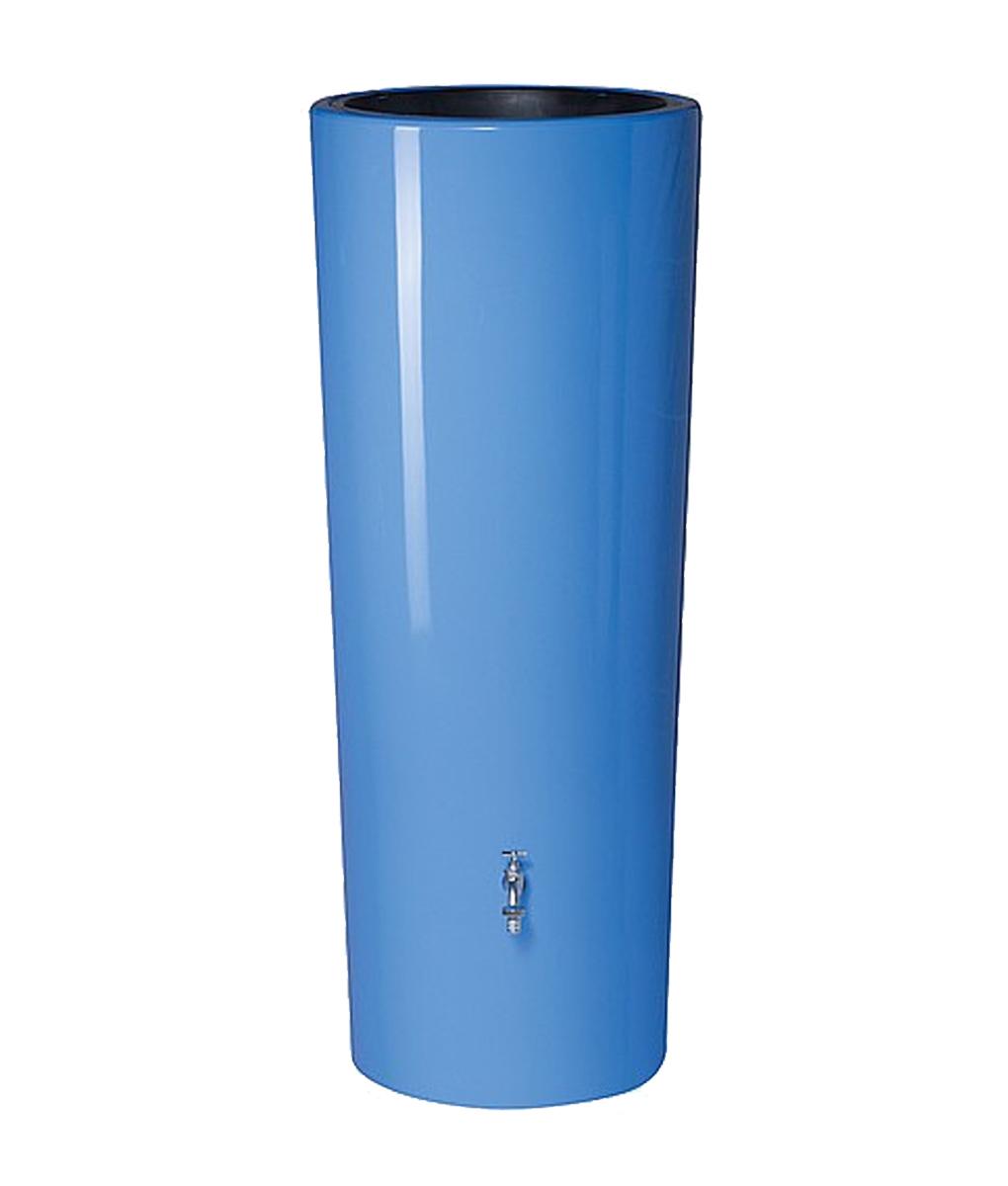 Blue 2 in 1 Water Butt Tank 350 Litre - Aqualogic AWDirect