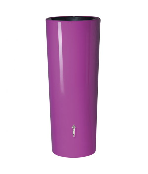 Anglian Water Direct, Aqualogic, Water Butts, Composters, Decorative Water Butts, Water Butt Treatment, Graf Purple 2 in 1 Decorative Water Butt Tank