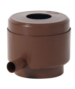 Graf Rainwater Filter Diverter Brown, Anglian Water Direct, Aqualogic, Water Butts, Composters