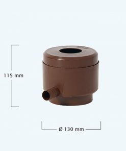 Anglian Water Direct, Aqualogic, Water Butts, Composters, Decorative Water Butts, Water Butt Treatment, Graf Rainwater Filter Water Butt Diverter Brown