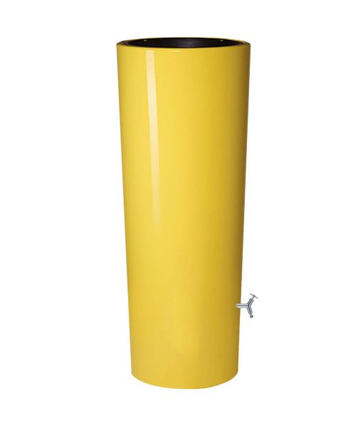 Anglian Water Direct, Aqualogic, Water Butts, Composters, Decorative Water Butts, Water Butt Treatment, Graf Yellow 2 in 1 Decorative Water Butt