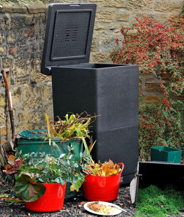 Anglian Water Direct, Aqualogic, Water Butts, Composters, Decorative Water Butts, Water Butt Treatment, HotBin Compost Bin 200 Litre