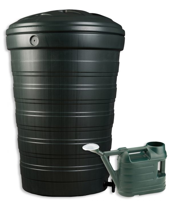 Water Butt Set 200 Litre with FREE Watering Can